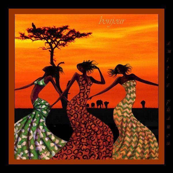 bonjour africain