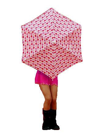 tube femme parapluie