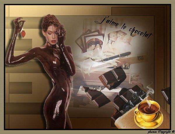 j'aime le chocolat et vous lol