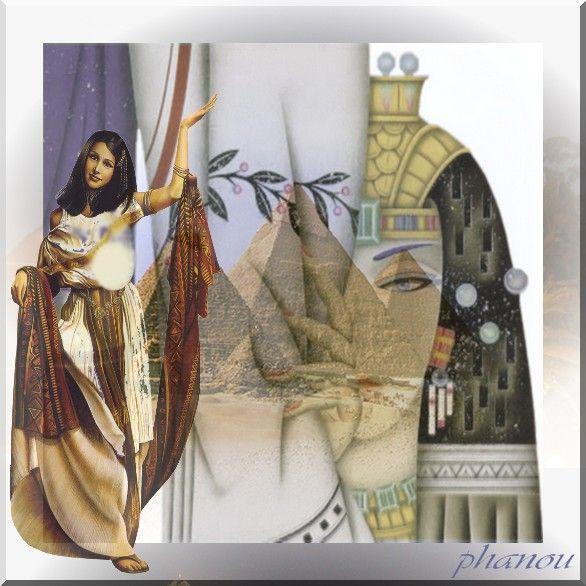 créa egypte